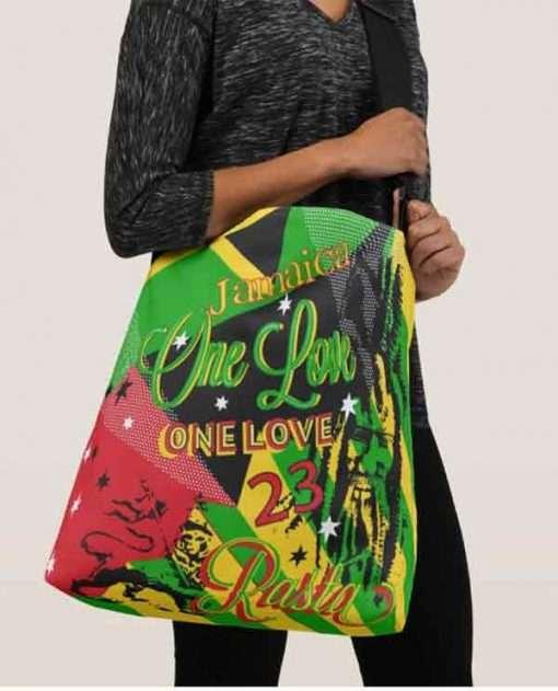 Reggae Party Cross Body Bag Rastaman Vibration Comes in Fours Sizes. Rastaseed Jamacian Rastafarian Reggae Merchandise