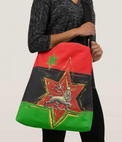 Pan African Bag All over print large crossbody bag at Rasta seed rastafarian merchandise clothing and accessories