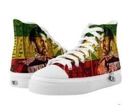 Selassie I shoes at Rasta Seed Rastafarian Haile Selassie Reggae and Jamaican Merchandise.
