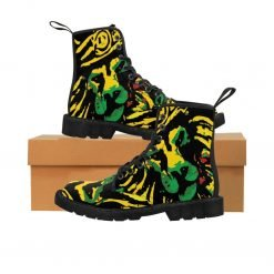 Jamaican Lion King Boots at Rastaseed merchandise clothing and accessories blog